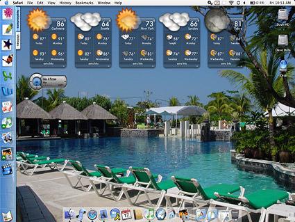 FQ Decorated desktop