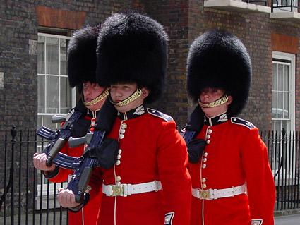 London Palace Guards
