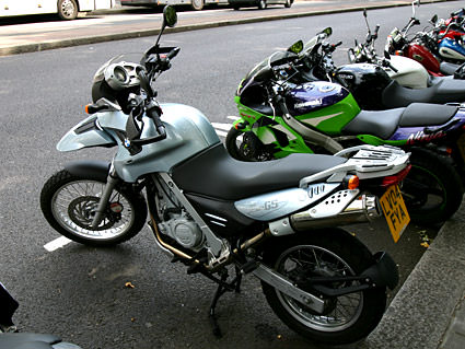 My Bike in London