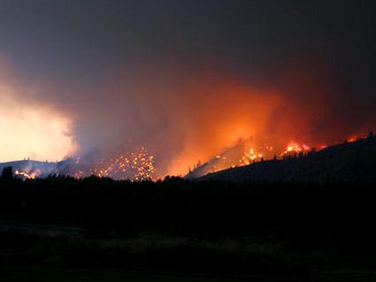 Olalla Fire