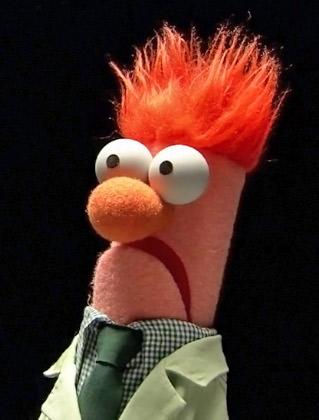 It's Beaker!