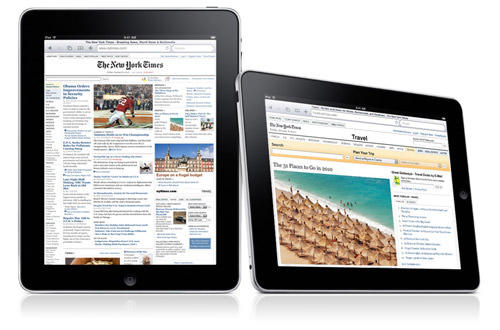 iPad as a Web Browser