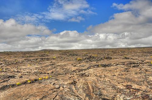 Hawaiian Volcanos National Park HDR Photo