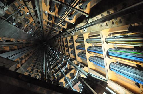 Atomium Elevator Shaft