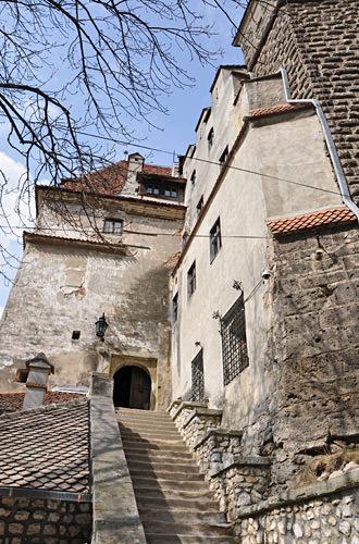 Dracula's Bran Castle Entrance