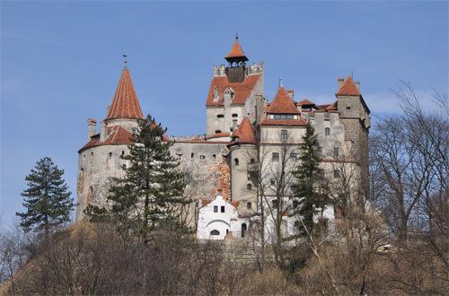 Dracula's Bran Castle Photo