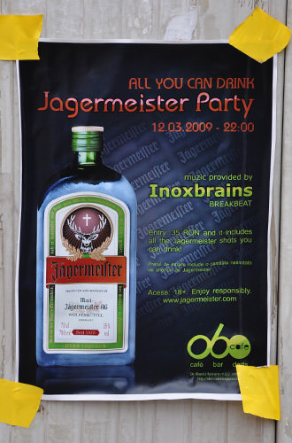 Jagermeister All You Can Drink Party!
