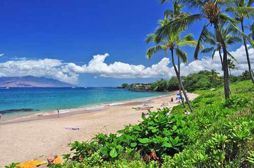 Makena Beach in Maui
