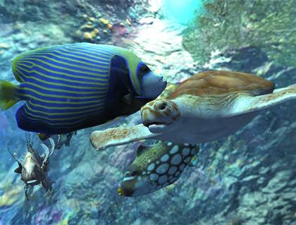 Ocean Blue Screenshot