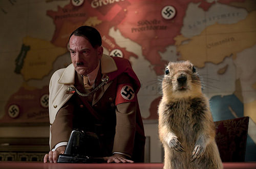 Crasher Squirrel in Inglourious Basterds