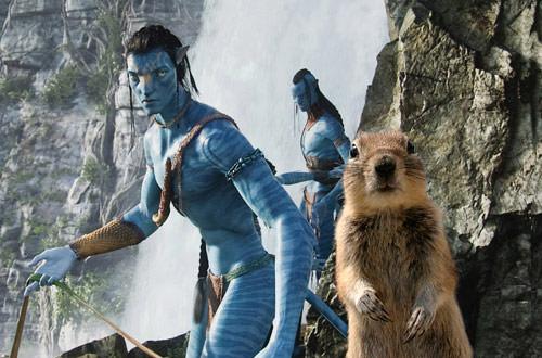 Crasher Squirrel in Avatar