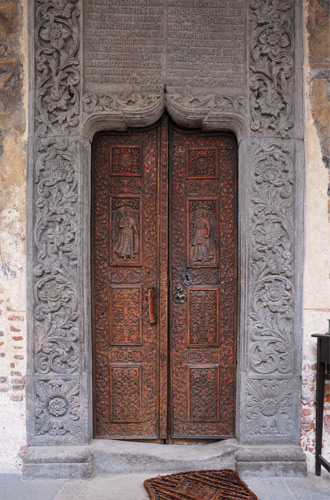 Stavropoleos Church Door