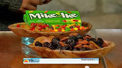Mike and Ike vs. Dried Fruit... WHICH IS HEALTHIER?