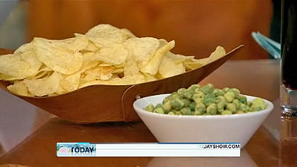 Fried Potato Chips vs. Dried Wasabi Beans... WHICH IS HEALTHIER?