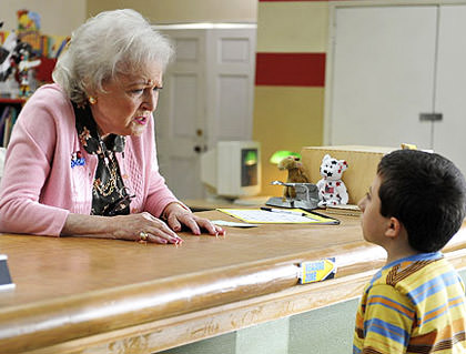 Betty White on The Middle