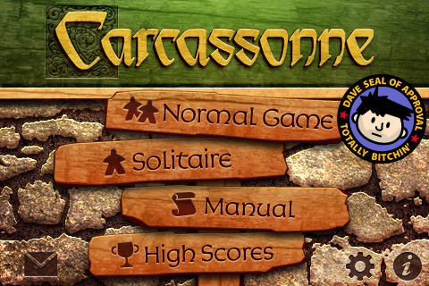 Carcassonne is Dave Approved!