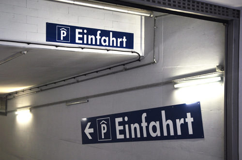 Double Fahrt Signs!