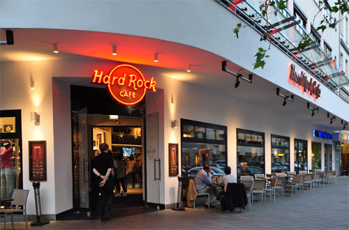 Hard Rock Cafe Berlin Outside
