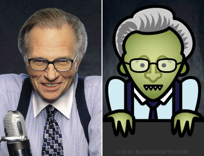 Larry King the Alien