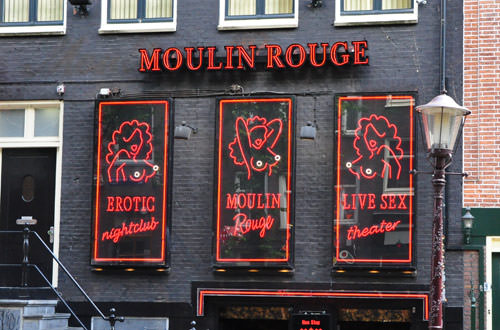 Red Light Moulin Rouge