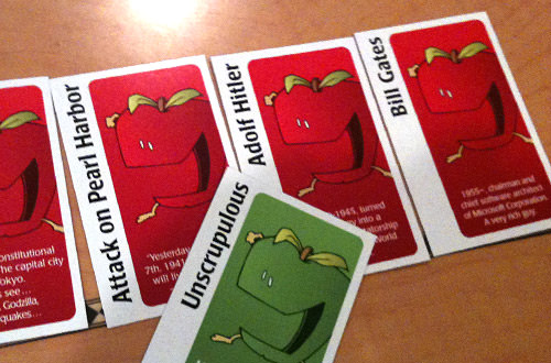 Apples to Apples Juding EXTREME against Bill Gates and Adolf Hitler.