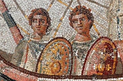 Bardo Museum Mosaic Detail