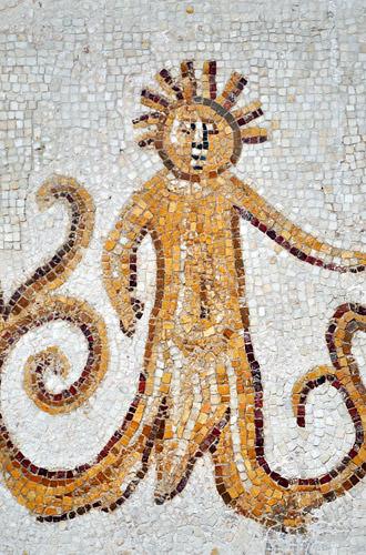 Bardo Museum Mosaic Tree Man