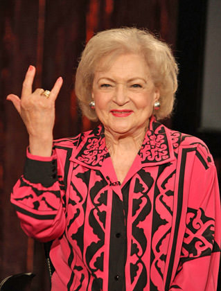 It's Betty White!!