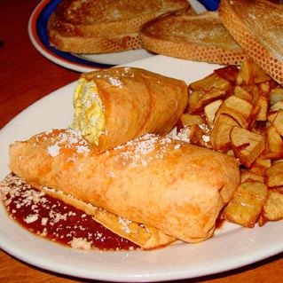 Breakfast Burrito & Taters