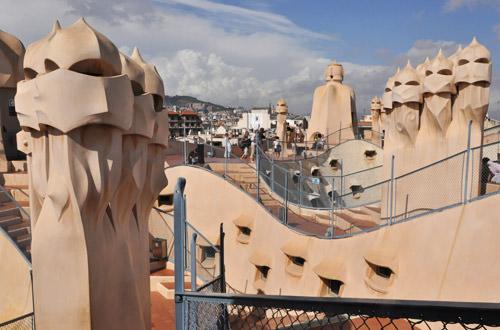 CasaMilá Roof