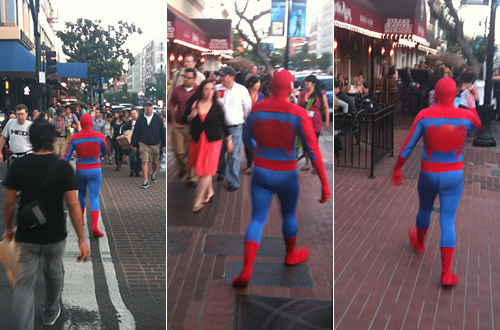 Comic Con Spider-Man