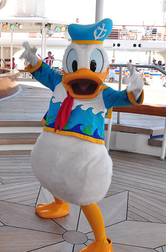 Disney Magic Donald Duck