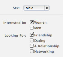 Interested in WOMEN. Looking for FRIENDSHIP.