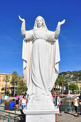 Santa Margherita Statue of Mary