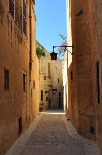Mdina Alleyway
