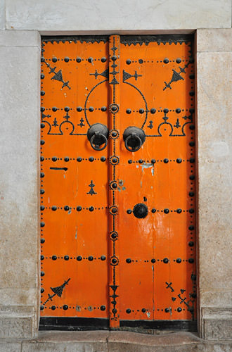 Medina Market Door