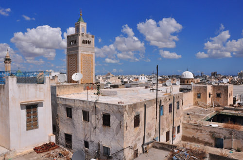 Roof View of the Medina