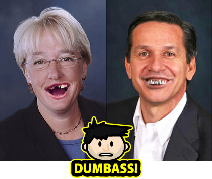 Patty Murray and Dino Rossi are DUMBASSES!