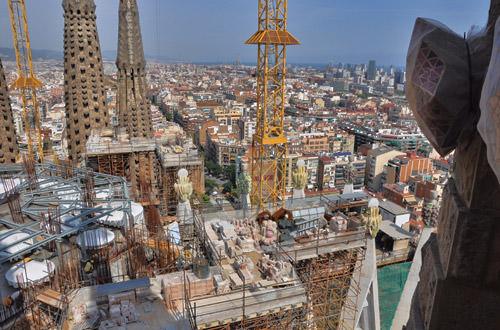 Sagrada Família Overlook