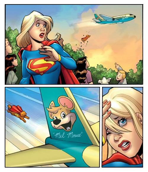 Supergirl Wednesday Comics