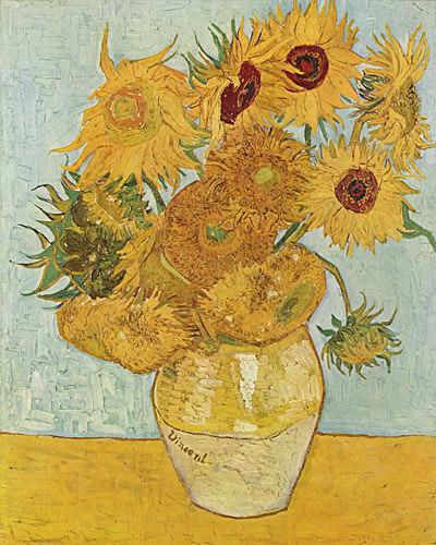 Van Gogh Sunflowers