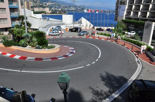 Monaco Race Route