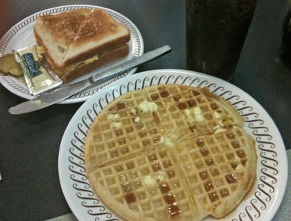 Waffle House Dinner