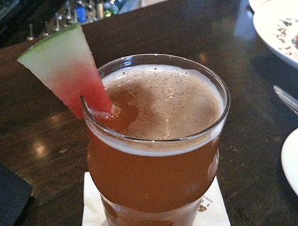 Watermelon Wheat Beer