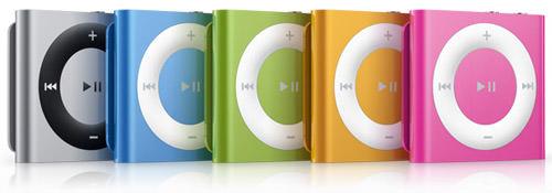 iPod Shuffle V3 Colors