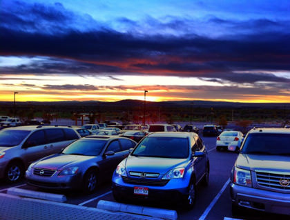 HDR Pro Cars at Sunset