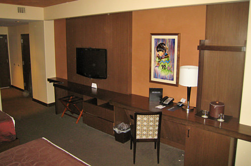 Hard Rock Hotel Room Desk