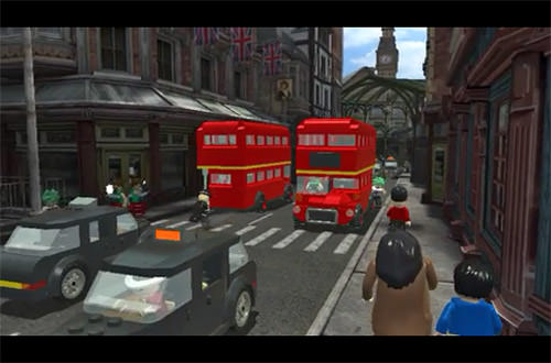 LEGO Harry Potter for iPhone: London Cut Scene