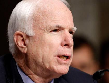 It's McCain!