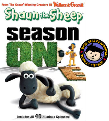 Shaun the Sheep Season One DVD